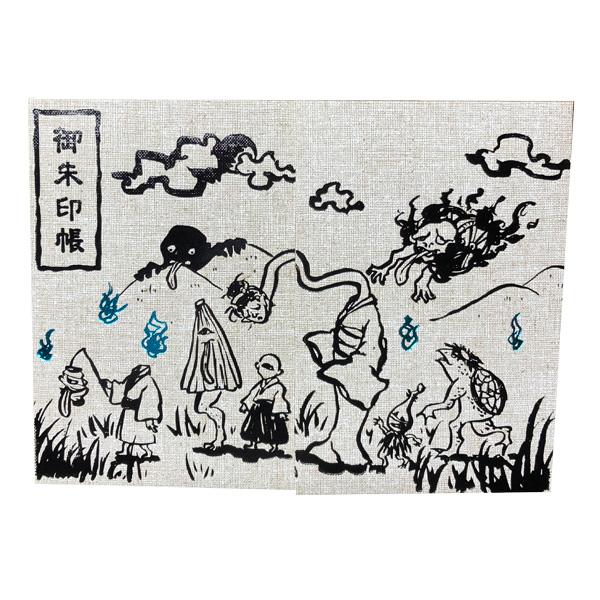 【御朱印帳】大判/百鬼夜行